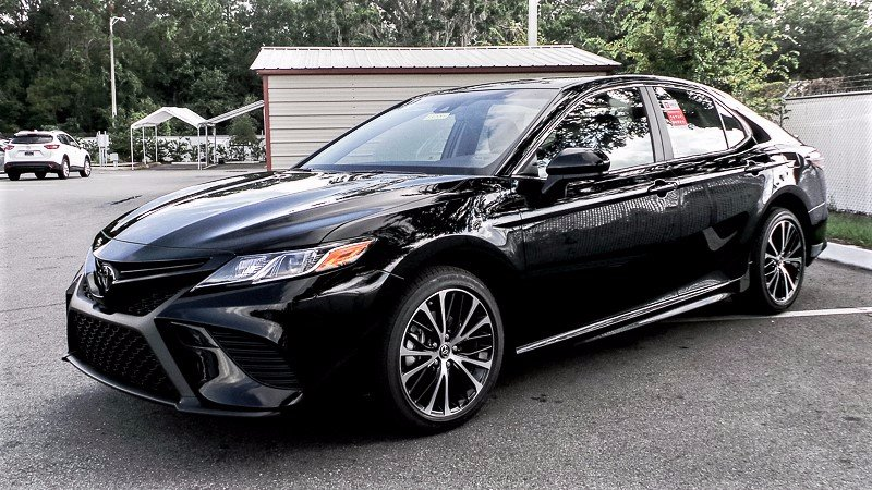 New 2018 Toyota Camry Se 4dr Car In Jacksonville 83377